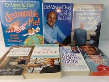 Wayne Dyer Book Lot of 7 Your Sacred Self Erroneous Zone Sky's Limit Unstoppable