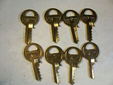 1 SET  MASTER   M1   4  PIN  DEPTH  KEYS  0-7            LOCKSMITH