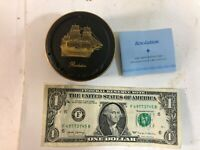 """JOHN PINCHES GREAT BRITISH SHIP COLLECTION """"Resolution"""" LE TRINKET BOX 1980"""