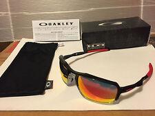 NEW Oakley - Triggerman - Sunglasses, Black Ink / Ruby Iridium, OO9266-10