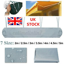 More details for uk 2.5-3.5m patio awning weather rain cover awning sun canopy storage protector