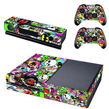 Intelligent Arsenal Crest Xbox One Console Skin Video Games & Consoles 2x Controller Stickers Decal Faceplate Pad