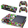 Graffiti Xbox One Console SKIN + 2 x Controller Stickers Decal FacePlate - Pad