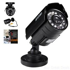 Outdoor Security Camera Night Vision HD 800TVL Video Recording System Waterproof