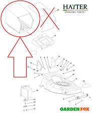 """new Hayter OSPREY 46 Lawnmower 18"""" 610A 611A - FABRIC GRASS BAG - 134-0137 355"""