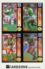Canberra Raiders 1994 Season NRL & Rugby League Trading Cards