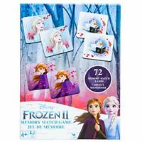 SpinMaster Disney's Classic Frozen II Memory Match Game Free Shipping New