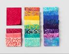 Boundless Batik Hibiscus Cotton Fabric Charm Pack 5