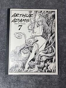 Arthur Adams Sampler Sketchbook Volume VII 7 2008 Signed