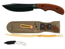 Ka-bar Messer Johnson Adventure POTBELLY Jagdmesser 1095 + Piggyback Neckknife