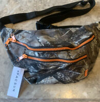 NWT PacSun Camo Fanny Pack  Camouflage Bag Cross Body Strap and Buckle