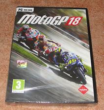 MotoGP 18 Jeu PC Neuf sous blister Version française