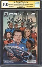 THE ORVILLE: NEW BEGINNINGS #1 CGC 9.8 SS / Dark Horse / Cast-signed by 11!