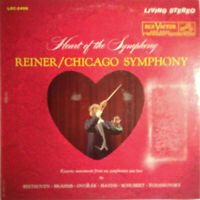 RCA LIVING STEREO LSC-2496 *SHADED DOG* THE HEART OF THE SYMPHONY *REINER EX/NM