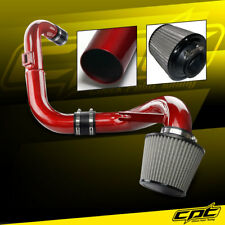 06-11 Honda Civic DX/LX/EX 1.8L Red Cold Air Intake + Stainless Air Filter