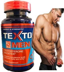 TESTO,LOAD max TESTOSTERONE MUSCLE BOOSTER NO STEROIDS 60