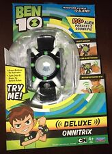 BEN 10 Electronic Deluxe Omnitrix Wrist Roleplay Watch 100+ Phrases & Sounds NEW