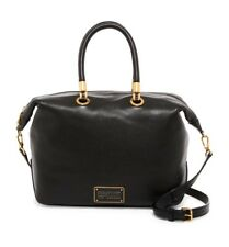 900ea67d80ed NWT Marc by Marc Jacobs Too Hot to Handle Lrg Leather Satchel Bag BLACK  AUTHENTC