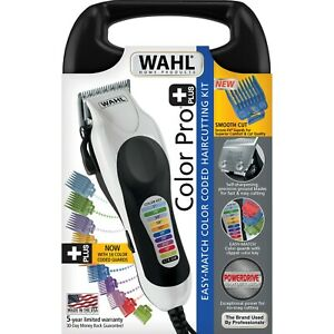 WAHL Professional CLIPPERS Trimmer Hair Cutting Kit Tool Color Pro