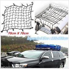 Universal Elastic Bungee Luggage Rack Cargo Net Roof Rack Basket Stretch W/ Hook