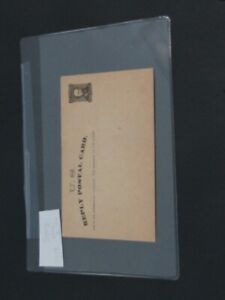 Nystamps E US Stamp # UY1E Mint Postal Card Essay UPSS $1500 Rare
