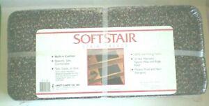 "Stair Treads Softstair Nylon Burgundy-Green-Gray 13 pieces 8"" x 18"""