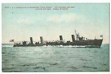 "USS Torpedo Boat Destroyer, ""Paul Jones"", Bainbridge Class  PPC, Unposted, USN"