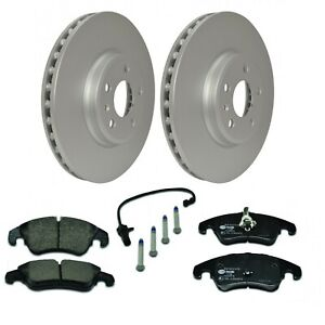Front Brake Kit 320mm Audi A4 A5 Q5 2.0 3.2 8K0615301A 8K0698151G Hella Pagid