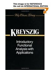 Introductory Functional Analysis with Applications by Erwin Kreyszig...- Paperba