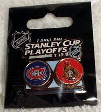 2013 NHL Stanley Cup Playoffs Montreal Canadiens Ottawa Senators PIN