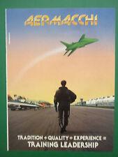 6/1993 PUB AVION AERMACCHI MILITARY JET TRAINER FRECCE TRICOLORI ORIGINAL AD