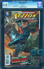 ACTION COMICS #19 - CGC 9.8 – FOLD OUT COVER – DC COMICS – NEW ARTISTIC TEAM