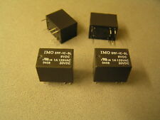 IMO SRF-1C-SL-9VDC Relay 1A 125VAC 30VDC SPCO I59 4 pieces MBC010a