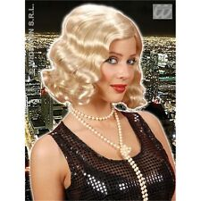 1920's Blonde Adult's Wig - Womens 20's Charlston Flappers Fancy Dress