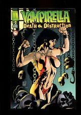 VAMPIRELLA 2 DEATH & DESTRUCTION  (9.2)  ADAM HUGHES COVER HARRIS COMICS (B038)