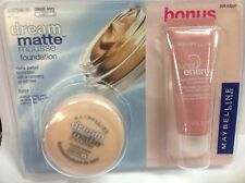 Maybelline Dream Matte Mousse Foundation CLASSIC IVORY LUNAR ENERGY PINK ECLIPSE