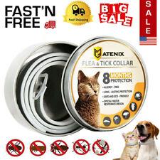 Dewel Cheaper than Seresto! Flea Tick Control Collar for Cats 8 Month Prevention
