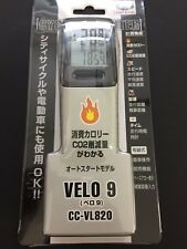 CAT EYE CC-VL820 Velo 9 Cycle Computer Wired Speedometer Black CATEYE Japan