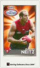 2007 Kraft Dairy AFL Action Heroes Card #11 David Neitz (Melbourne)