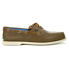 Sperry Men's Authentic Original 2-Eye Plush Brown Boat Shoes STS19261 NEW