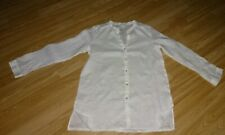 H&M White Long Sleeve Blouse Size 10 CN 170 /92A