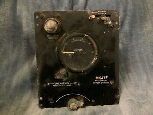 MK.17F Oxygen Demand Regulator, Aircraft Part/Relic Vulcan bomber etc CB5 (B)