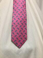 Men's Paul Fredrick PINK SNEAKERS 100% Silk Neck Tie TRENDY made in Italy