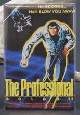 "Golgo 13 The Professional Movie Poster - 2"" X 3"" Fridge / Locker Magnet."