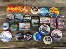 Vintage Budweiser Beer Speedboat World Champions Pin Back Buttons