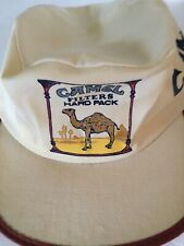 Vtg Camel Cigarette Advertizing Painters Hat