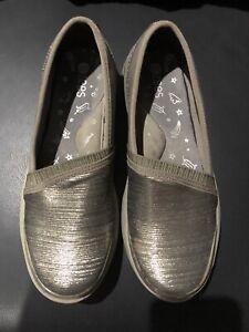 *BZEES*Grey Women's Comfort Shoes,Size 8.5AUS,Excellent Condition