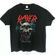 Slayer T-Shirt Mens Size 2Xl Black Preowned