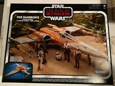 STAR WARS POE DAMERON'S X-WING FIGHTER VINTAGE COLLECTION VEHICLE IN STOCK MINT