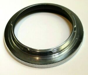 Konica No 1 AR Reverse Mount adapter for macro Close up lens 55mm screw